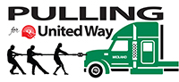 Pulling for the United Way logo